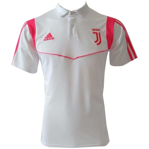 Polo Foot Juventus 2019-2020 Blanc Rose